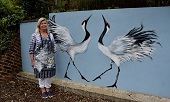 New Public Mural On Display at Hanwell Zoo