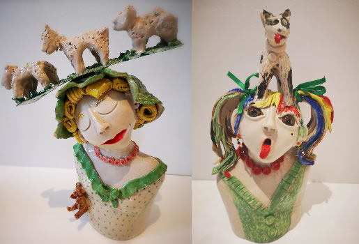A ceramic artist from Ealing