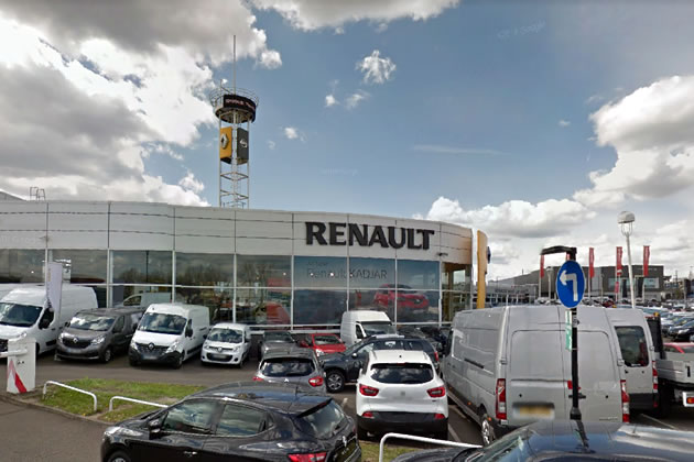 Renault showroom Western Avenue